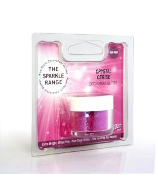 Paillette Cristal Cerise Rainbow dust