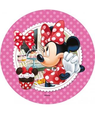Disque Azyme Minnie et son Cupcake Disney