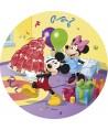 Disque pâtes à sucre Mickey, Minnie et leur gâteau Disney