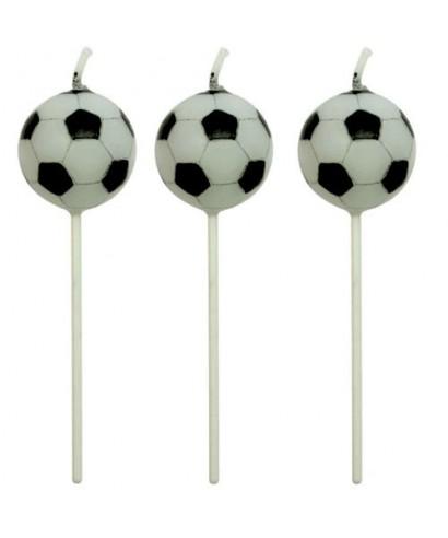 Bougie Football Set/4 PME