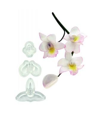 Emporte-pièce Singapour orchidée 3D set/3 JEM