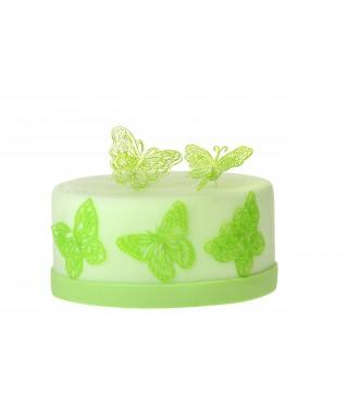 Tapis dentelle et Isomalt Papillons Sweet lace
