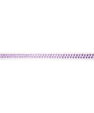 Ruban Avec Strass Adhesifs 90 Cm Violet