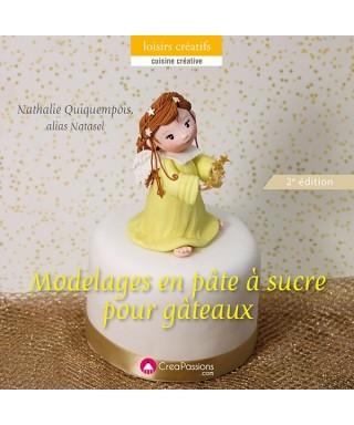Livre Modelages en pâte à sucre pour gâteaux Natasel