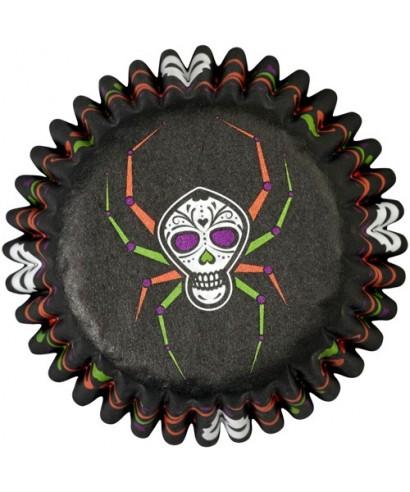 Mini Caissettes Halloween Soiree mortelle pk/100 Wilton
