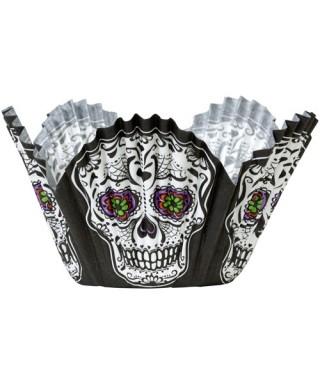 Caissettes Halloween Soiree mortelle pk/24 Wilton