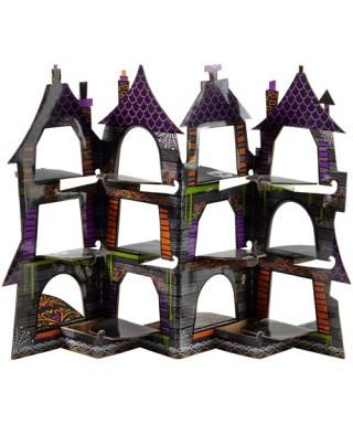 Présentoir à Cupcake maison hantée Halloween Wilton Wilton