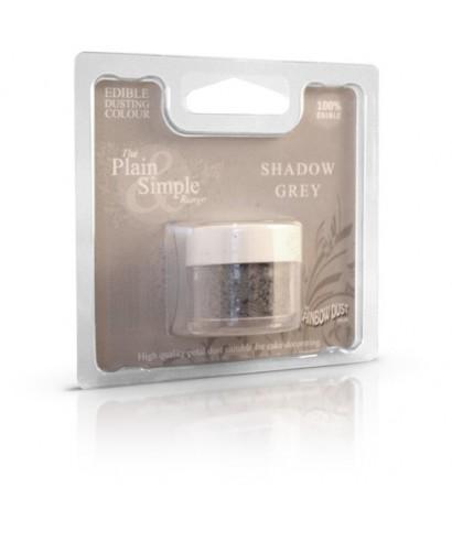 Colorant alimentaire plain and simple Gris ombre Foncé Rainbow dust
