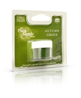 Colorant alimentaire plain and simple vert d'automne Rainbow dust