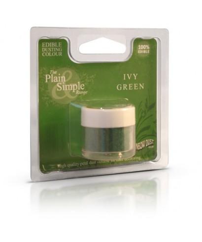 Colorant alimentaire plain and simple Vert lierre Rainbow dust
