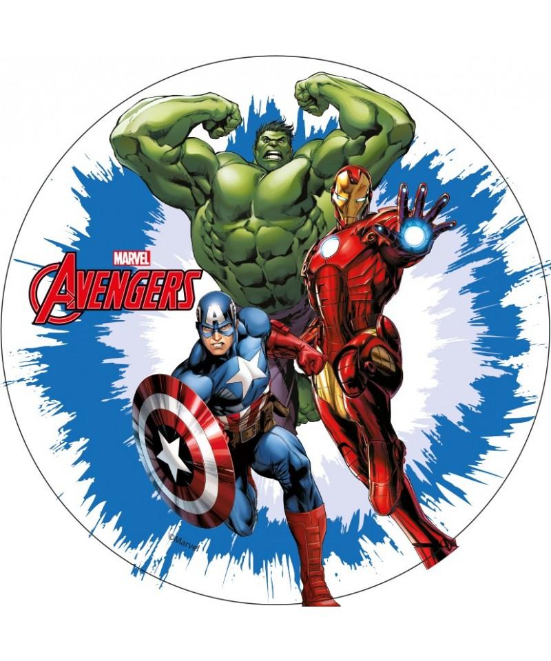 Disque azyme iron man hulk et captain america avengers - Dessin anime avengers ...