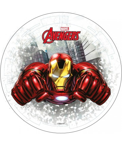 Disque azyme Iron Man Marvel