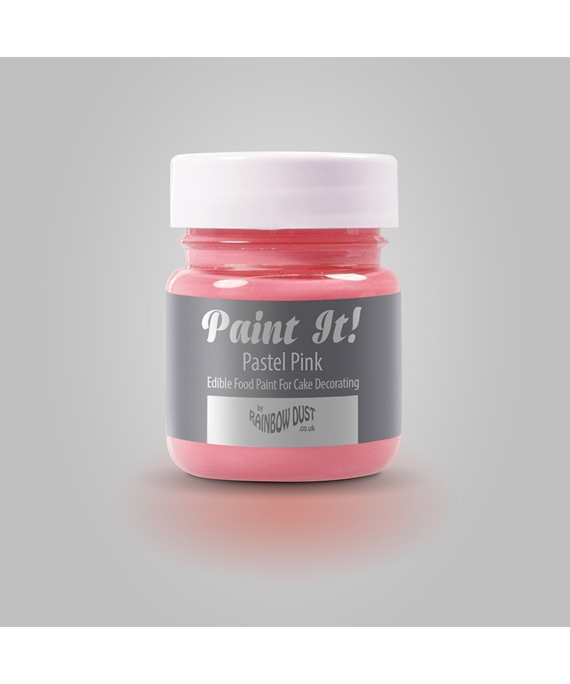 peinture rose pastel 25ml rainbow dust
