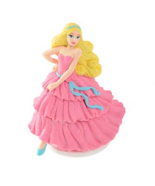 Figurine 3D Barbie en sucre