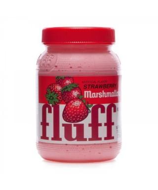 Fluff Marshmallow Strawberry – Fraise 213g - Pâte à tartiner à la guimauve