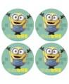 12 Minis disque Azyme Minions