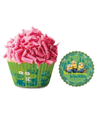 Caissettes Cupcake Minions