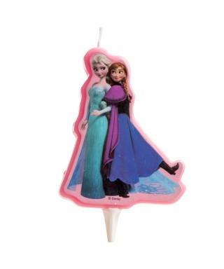 Bougie Elsa et Anna La reine des nesiges Disney