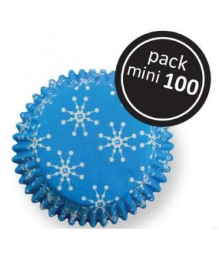 Mini Caissette Flocons de neige pk/100 PME