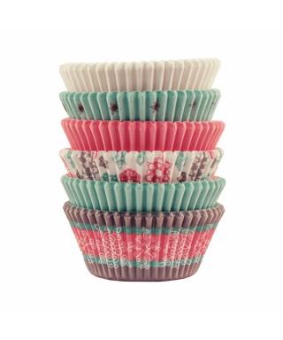 Caissettes à cupcakes flocons Noël pcs/150 Wilton