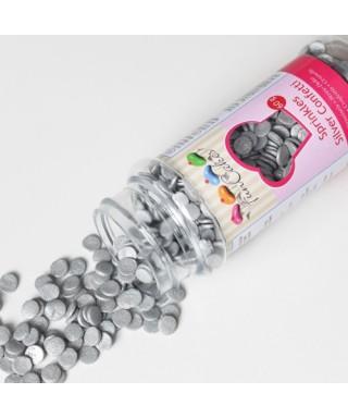 Confetti Argent en sucre de FunCakes
