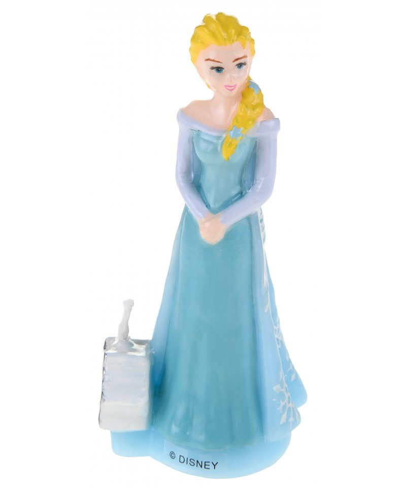Bougie 3d elsa la reine des neiges disney - Elsa la reine des neige ...