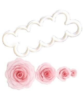 Emporte-pièce Rose facile FMM sugarcraft