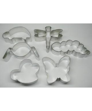 Emporte-pièce métal Bug Buddies Set de 6 pièces Wilton