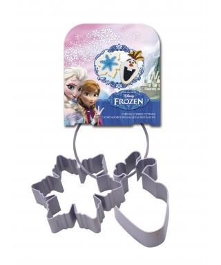 Emporte-pièce métal la reine des neiges set/2 Disney