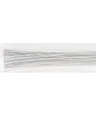 Tiges florales Blanche set/50 -26 gauge