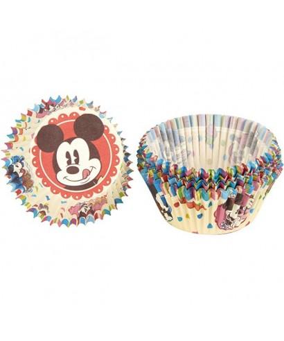 Mini Caissettes à Cupcake Mickey set/60 Disney