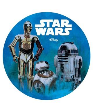 Disque azyme R2-D2 et C-3PO Star Wars