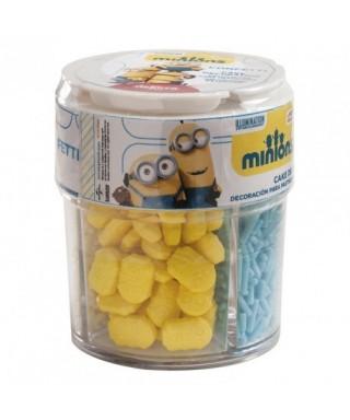 Assortiment confettis en sucre Minions
