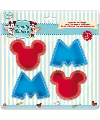 Moule silicone à cupcake Mickey Disney