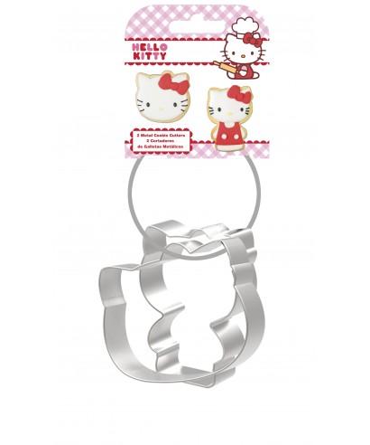 Emporte-pièce métallique Hello kitty