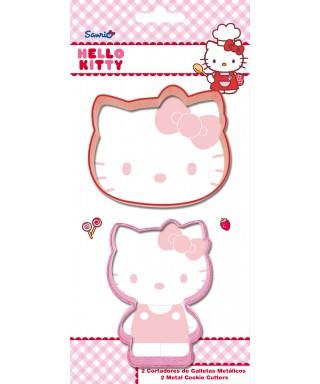 Emporte-pièce métal Hello kitty