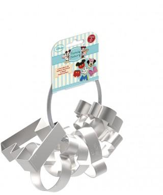 Emporte-pièce métal Mickey set de 6 pièces Disney