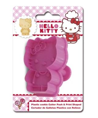 Emporte-pièce poussoir Hello Kitty