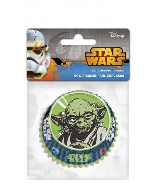 Caissettes à cupcake Star Wars Maître Yoda set/60