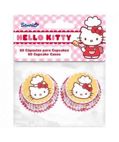 Mini Caissettes à Cupcake Hello Kitty set/60