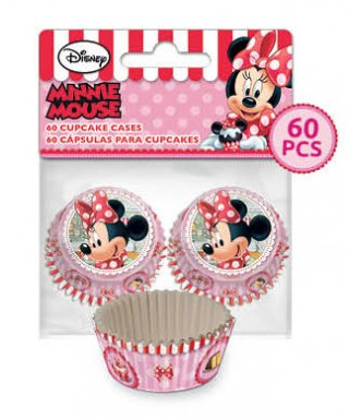 Mini Caissettes à Cupcake Minnie set/60 Disney