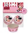 Mini Caissettes à Cupcake Minnie set/60 Disney