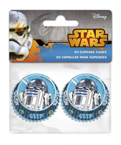 Mini Caissettes à Cupcake Star Wars set/60 Disney
