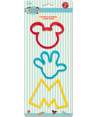 Emporte-pièce Mickey set/3 Disney
