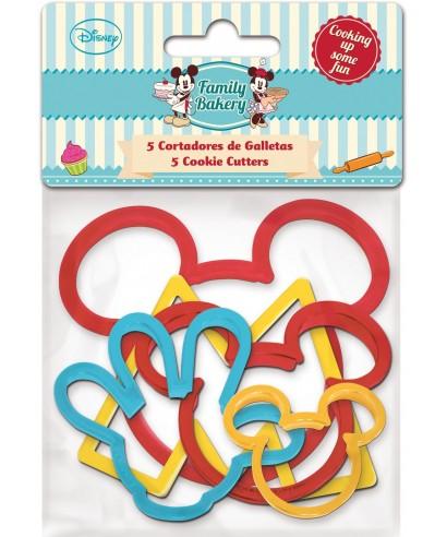 Emporte-pièce Mickey set/5 Disney