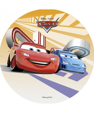Disque Azyme Cars Flash McQueen et son ami Disney