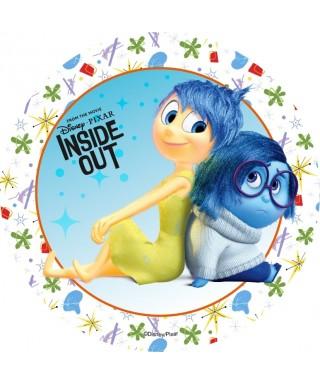 Disque Azyme Joie et Tristesse Vice Versa Disney