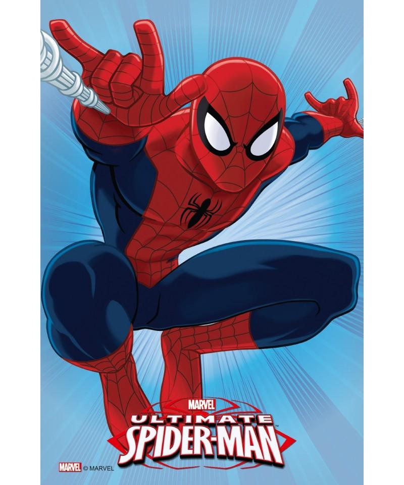 Rectangle en azyme spiderman saute ultimate marvel - Dessin anime spidermann ...