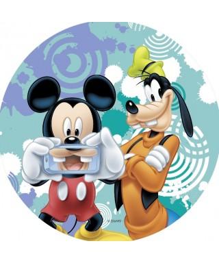 Disque azyme Mickey et Dingo Disney