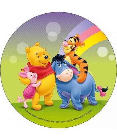 Disque azyme Winnie et ses amis Disney